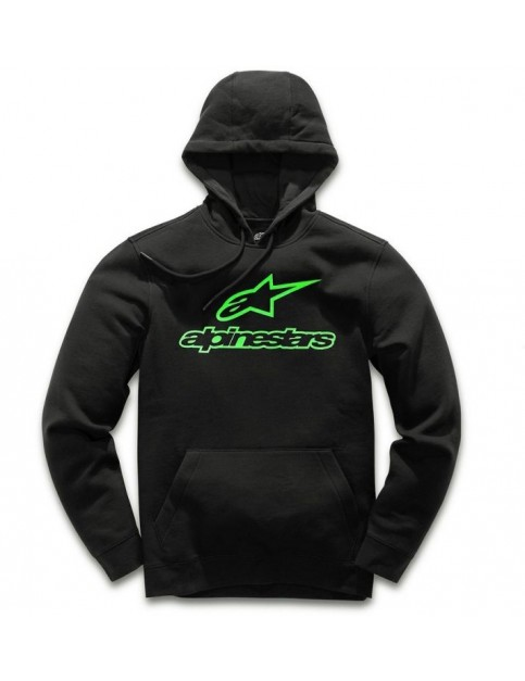 Alpinestars Always II Pullover Hoody in Black/Green