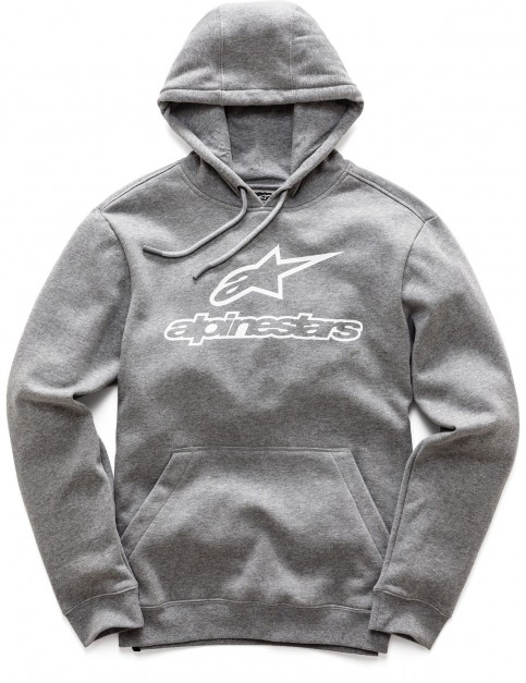Alpinestars Always Pullover Hoody in Grey Heather