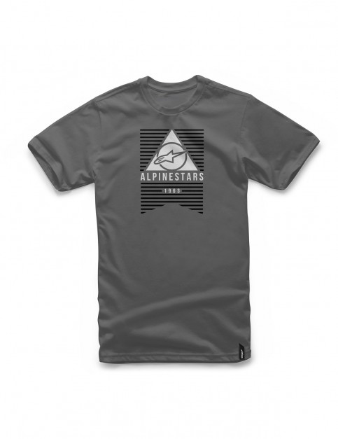 Alpinestars Awakens Short Sleeve T-Shirt in Charcoal