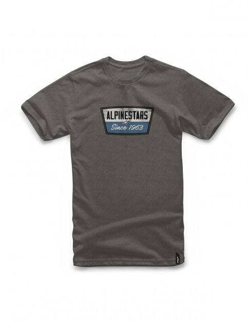 Alpinestars Battery Short Sleeve T-Shirt in Charcoal Heather
