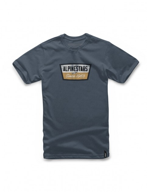 Alpinestars Battery Short Sleeve T-Shirt in Navy Heather