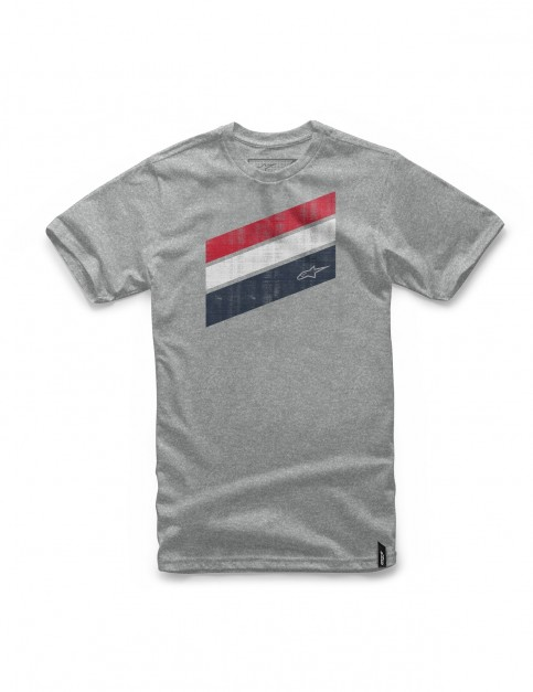 Alpinestars Beckton Short Sleeve T-Shirt in Grey Heather