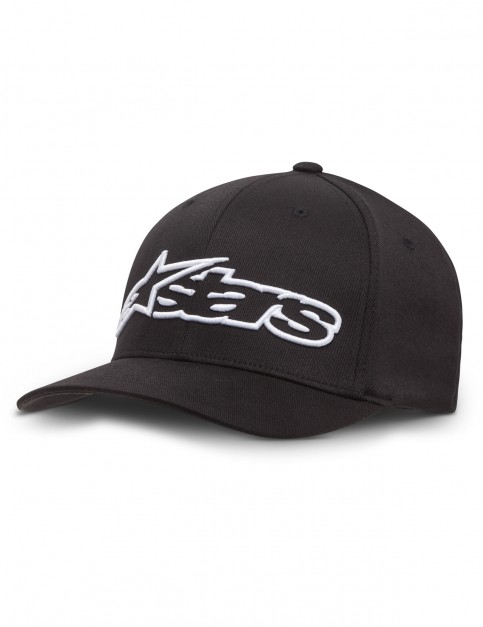 Alpinestars Blaze Flexfit Cap in Black/White