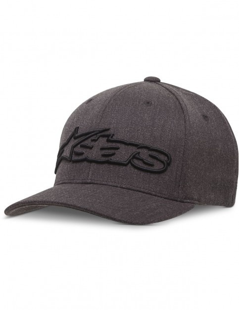Alpinestars Blaze Flexfit Cap in Dark Heather Grey/Black