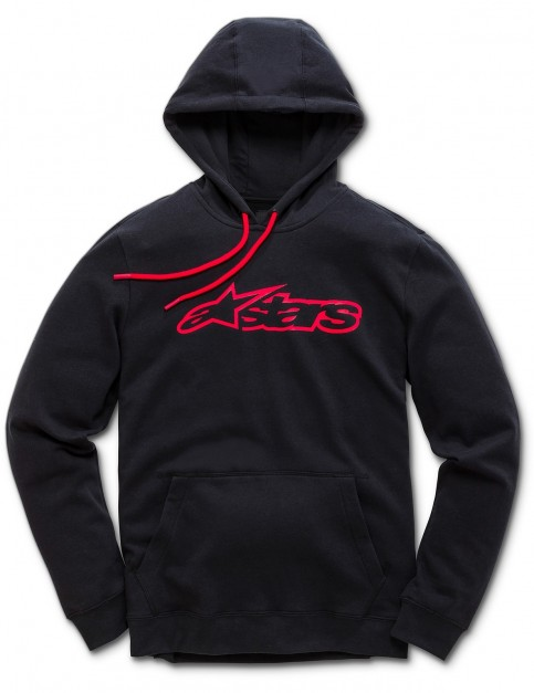 Alpinestars Blaze Pullover Hoody in Black/Red