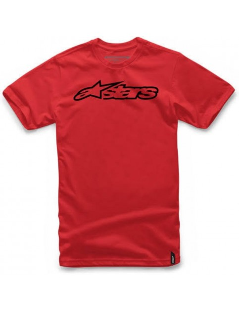 Alpinestars Blaze Short Sleeve T-Shirt in Red/Black