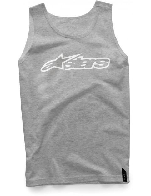 Alpinestars Blaze Sleeveless T-Shirt in Athletic Heather/White