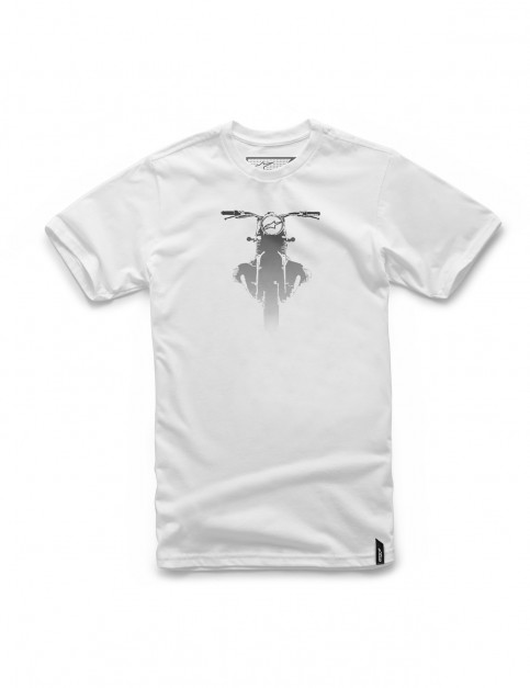 Alpinestars Boxed Short Sleeve T-Shirt in White