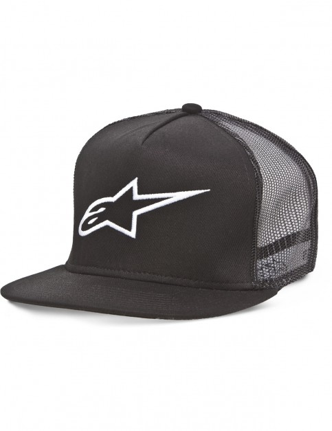 Alpinestars Corp Trucker Cap in Black