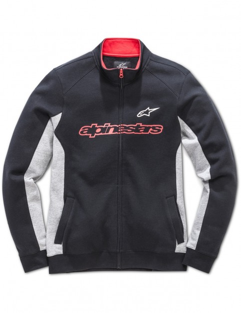 Alpinestars Curb Full Zip Fleece in Black