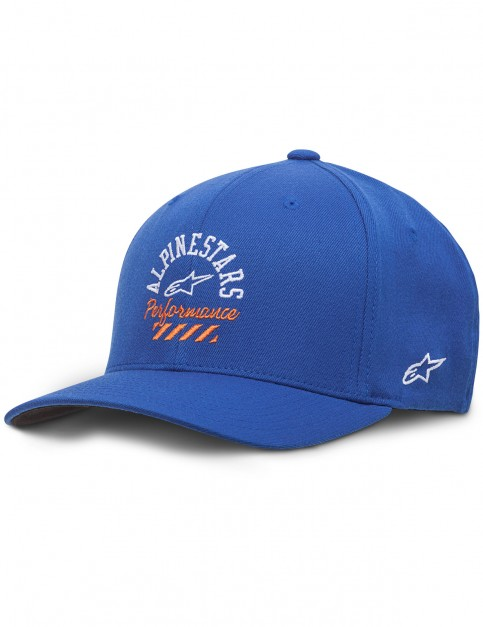 Alpinestars Empire Curve Cap in Royal Blue