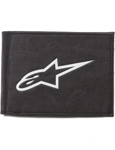 Alpinestars Equip Faux Leather Wallet in Black