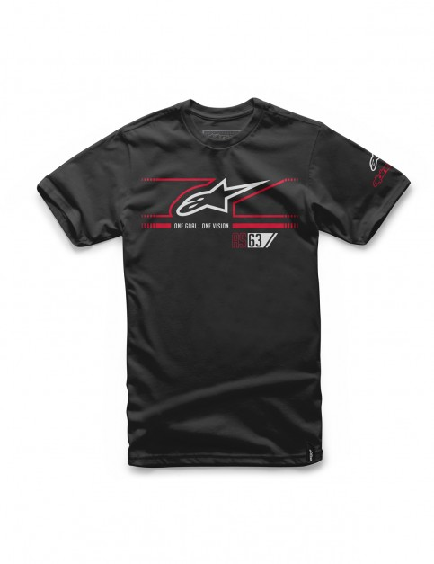 Alpinestars Fast Star Short Sleeve T-Shirt in Black
