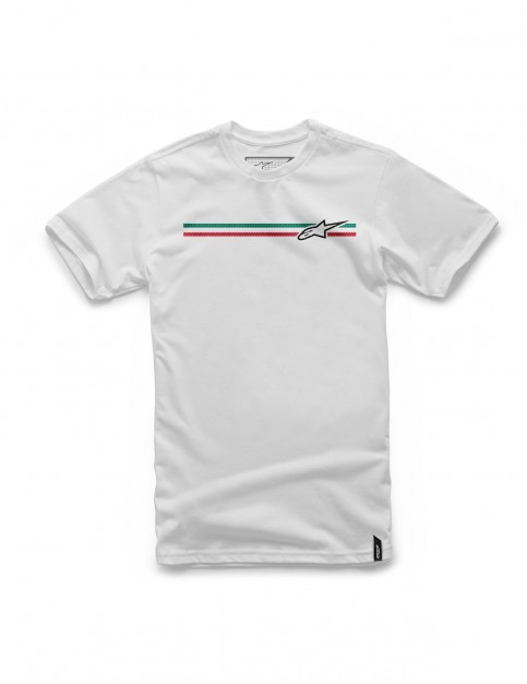 Alpinestars Finish Short Sleeve T-Shirt in White