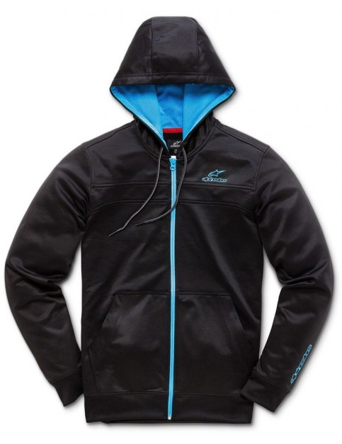 Alpinestars Freeride Zipped Hoody in Black/Blue