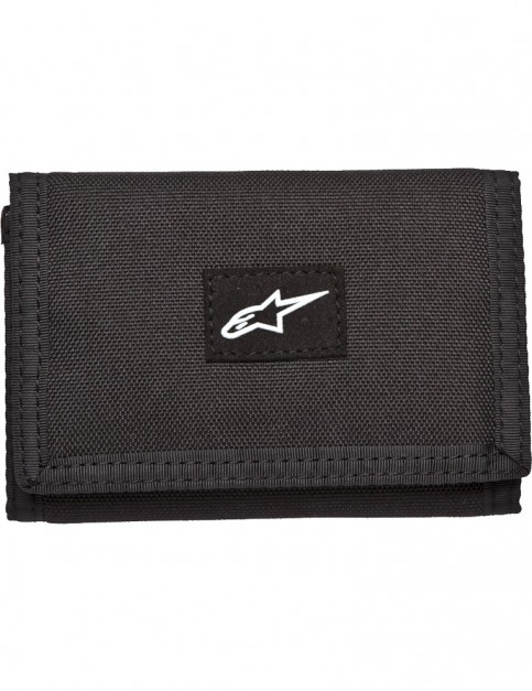 Alpinestars Friction Trifold Wallet Polyester Wallet in Black