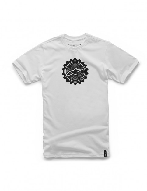 Alpinestars Geared Short Sleeve T-Shirt in White
