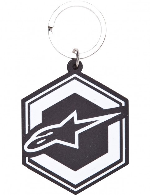 Alpinestars Ignition Key Fob Fun Stuff in Black/White