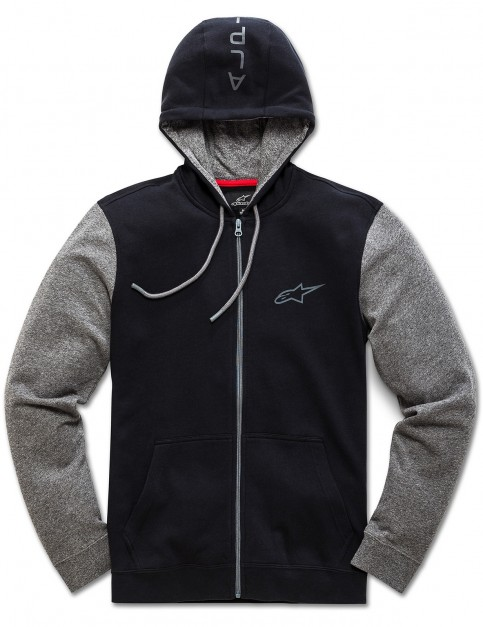 Alpinestars Mach 1 Zipped Hoody in Black
