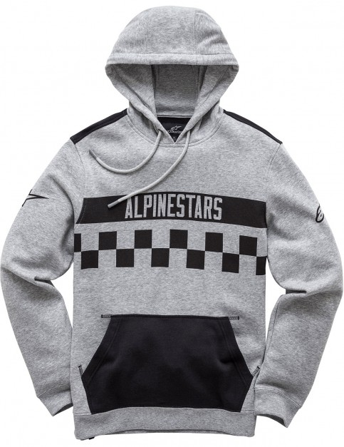 Alpinestars National Pullover Hoody in Grey Heather