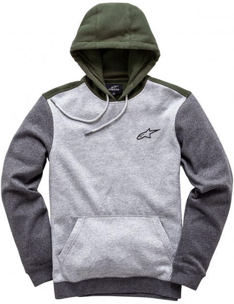 Alpinestars Overshot Pullover Hoody in Grey Heather