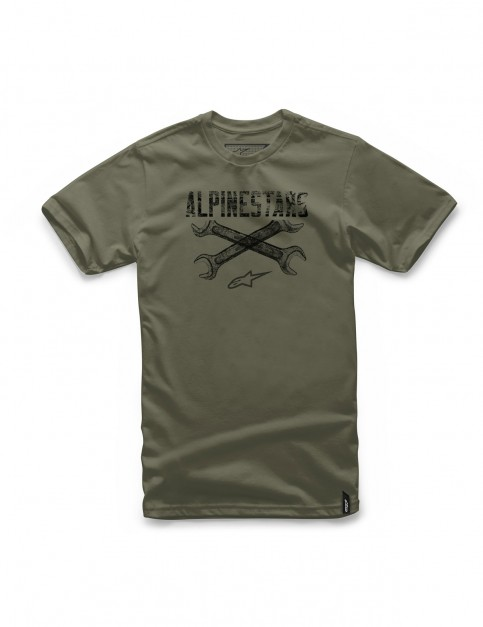 Alpinestars Rachet Short Sleeve T-Shirt in Military