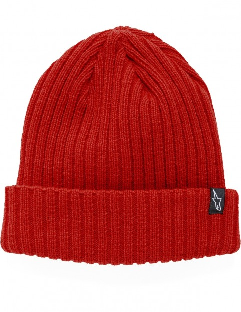 Alpinestars Receiving Beanie in Red