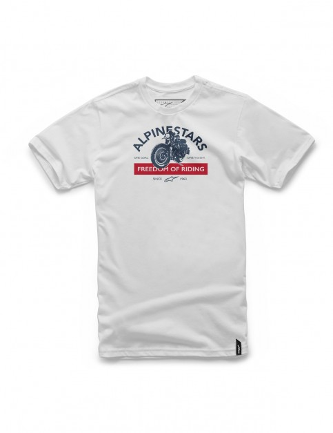 Alpinestars Rocker Short Sleeve T-Shirt in White
