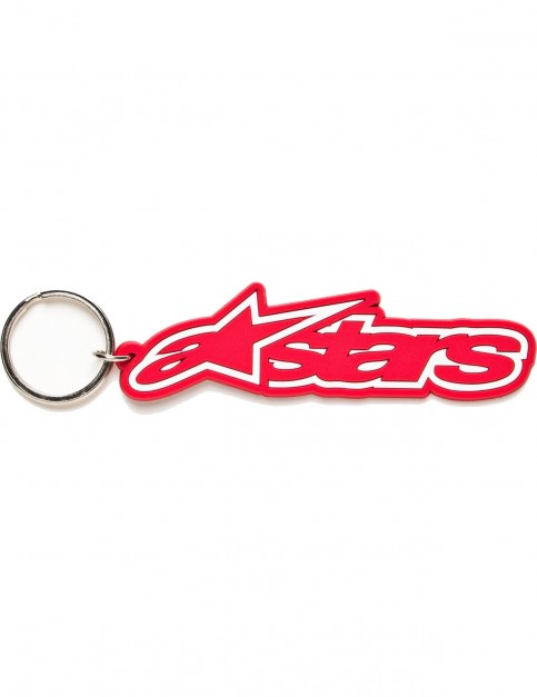 Alpinestars Rub Keychain Fun Stuff in Red