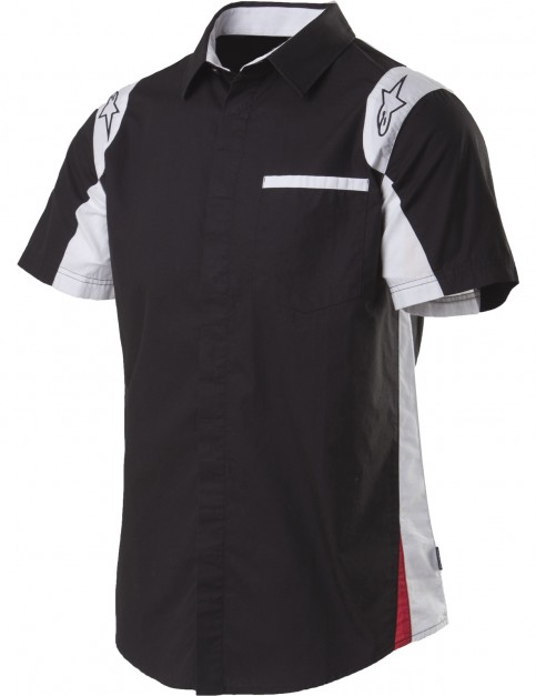 Alpinestars Sao Paolo Short Sleeve Shirt in Black