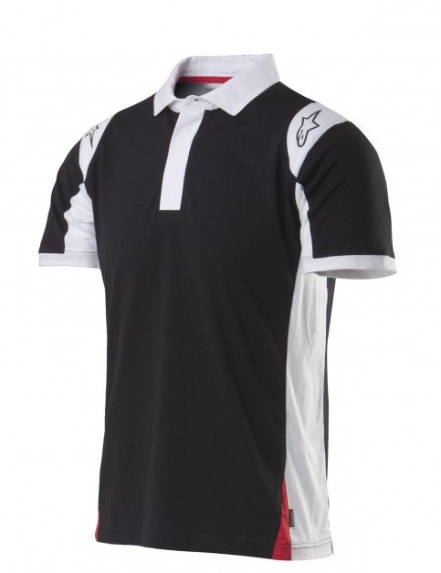 Alpinestars Spielberg Polo Shirt in Black