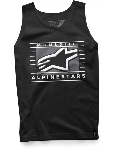 Alpinestars Time Sleeveless T-Shirt in Black
