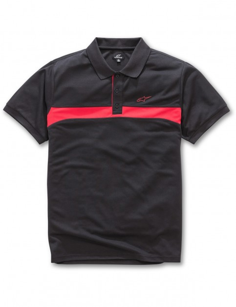Alpinestars Victory Polo Shirt in Black