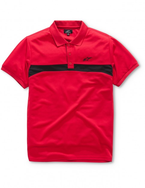 Alpinestars Victory Polo Shirt in Red