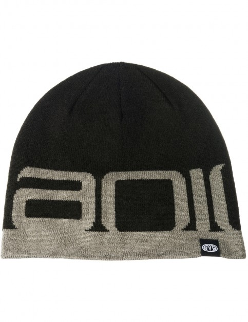 Animal Addam Beanie in Black