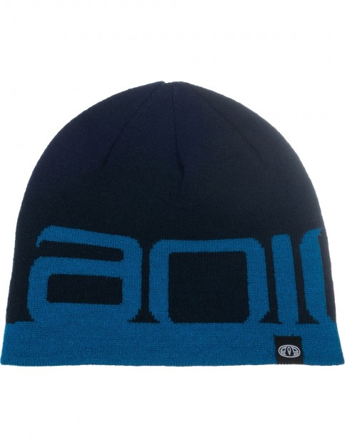 Animal Addam Beanie in Dark Navy