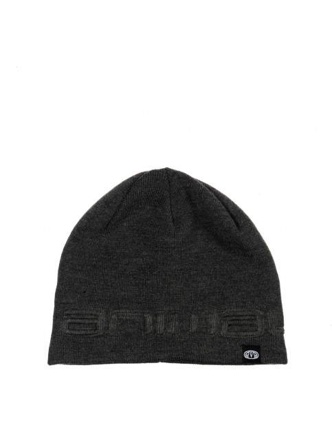 Animal Agas Beanie in Dark Charcoal Marl