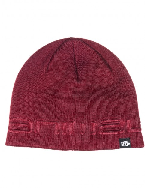 Animal Agas Beanie in Tawny Purple