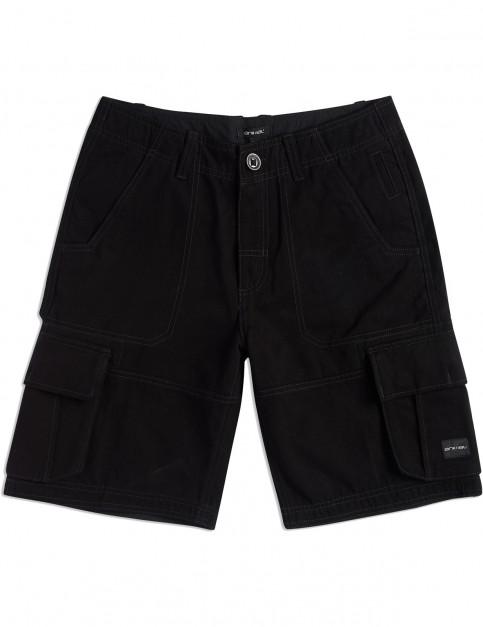 Animal Agouras Cargo Shorts in Black