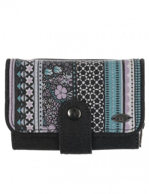 Chalk Blue Animal Aide Polyester Wallet