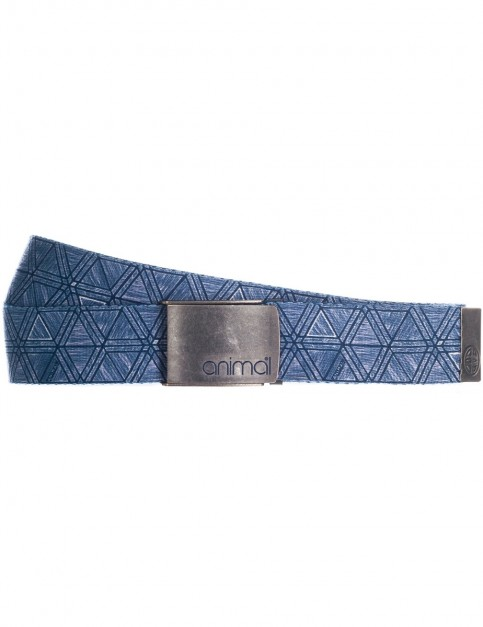 Animal Alabama Webbing Belt in Dark Navy