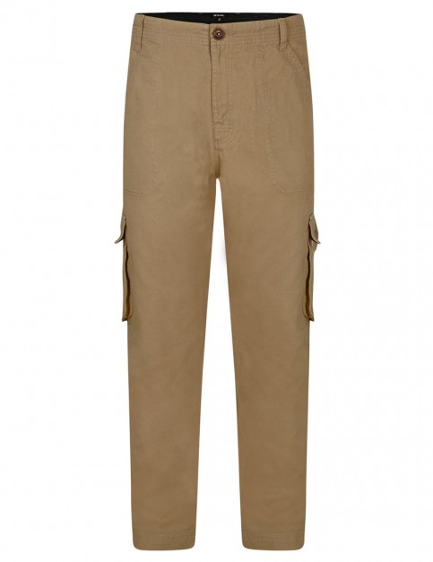 Dijon Brown Animal Alamos Cargo Pants