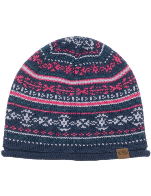 Animal Allexis Beanie in Ink Blue