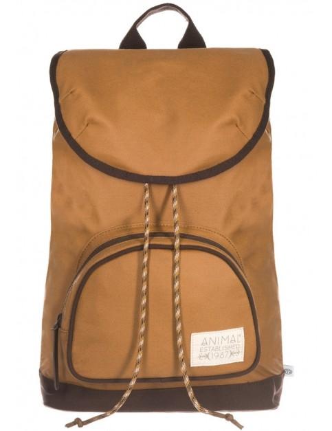 Animal Alpine Backpack in Toffee Apple Brown