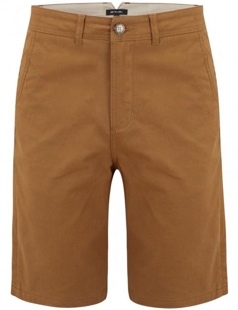 Animal Amar Shorts in Dijon Brown