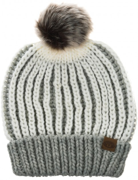 Animal Avoraa Beanie in Grey Marl