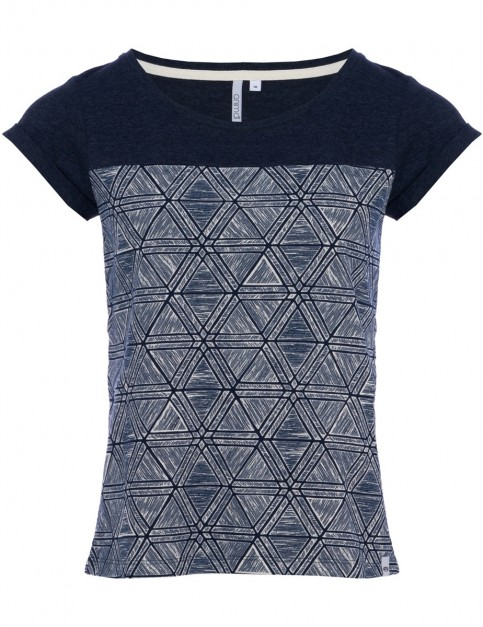 Animal Ayrilla Short Sleeve T-Shirt in Dark Navy