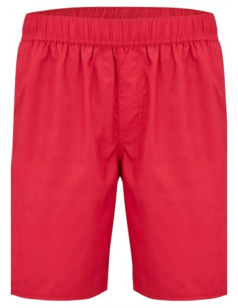 Animal Bahima Elasticated Boardshorts in Rich Red