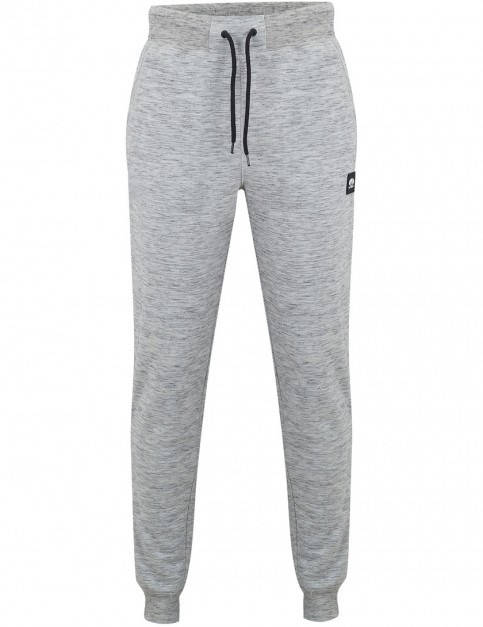 Animal Baines Track Trousers in Light Grey Marl