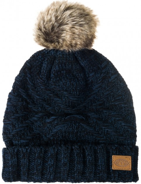 Animal Becki Beanie in Dark Navy